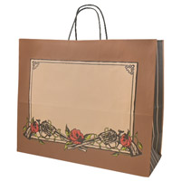 9002 GUNS AND ROSES SHOPPING BAG (MED)