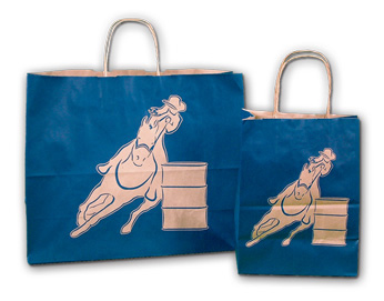 9211 BARREL RACER SHOPPING BAG (MED)