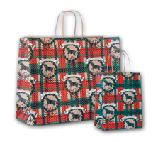 9065-M HAPPY HOLIDAYS SHOPPING BAG (MED)